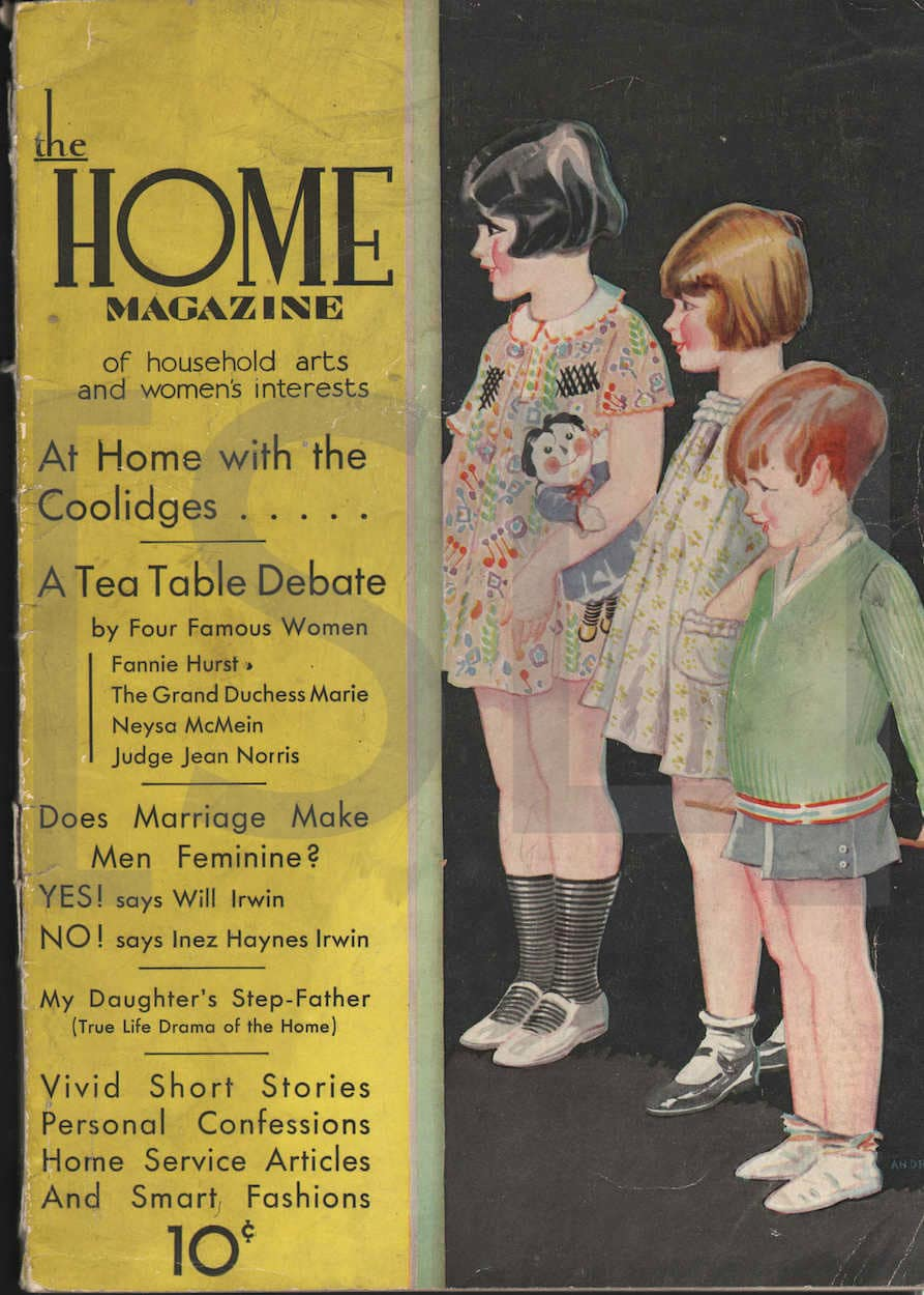 Home Magazine of Household Arts and Woman's Interests