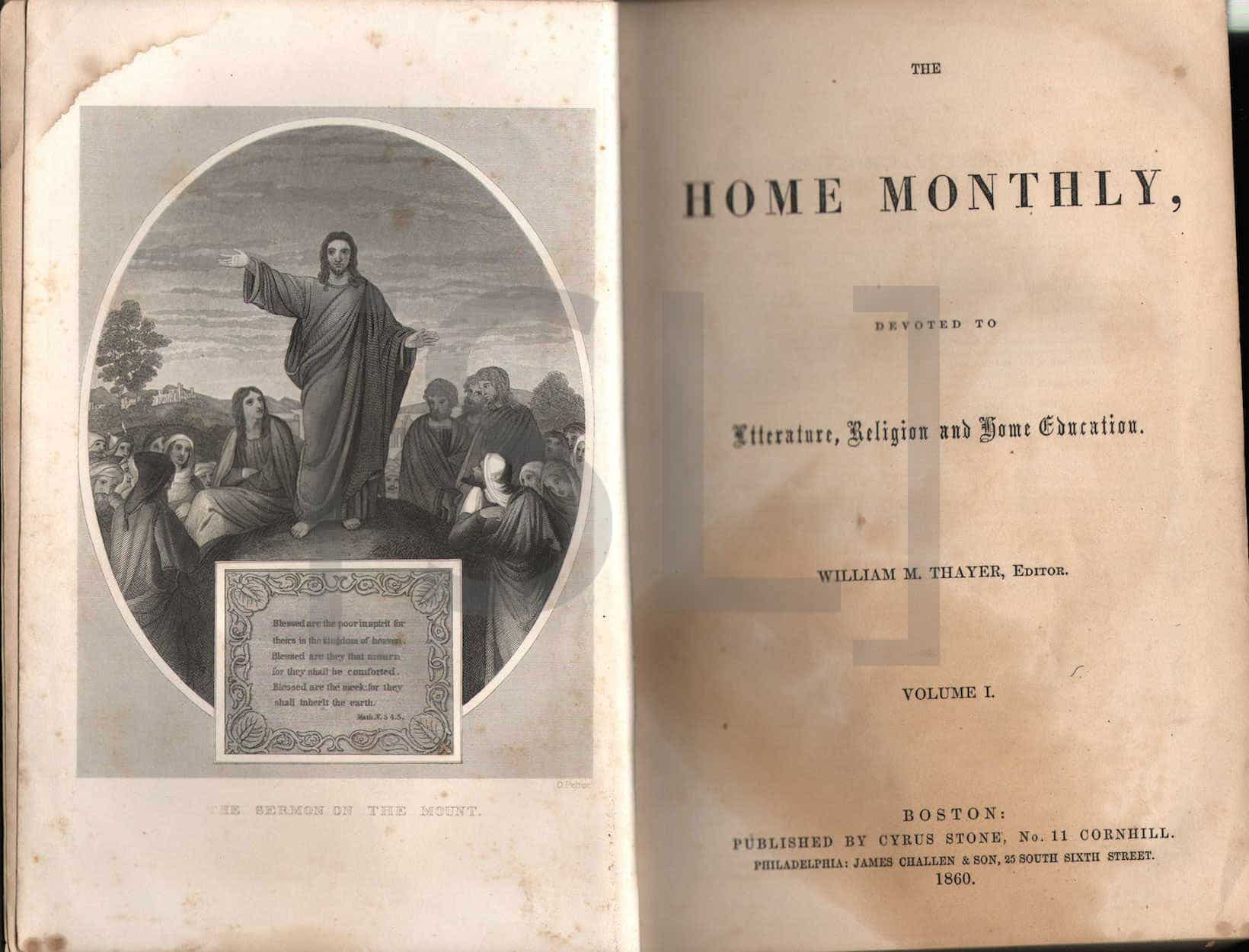 Home Monthly, Devoted to Literature, Religion, and Home Education