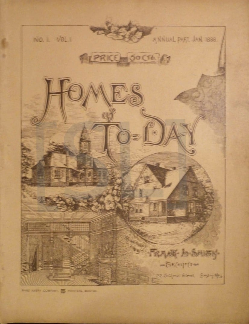 Homes of To-Day; or, Modern Examples of Moderate Cost Houses