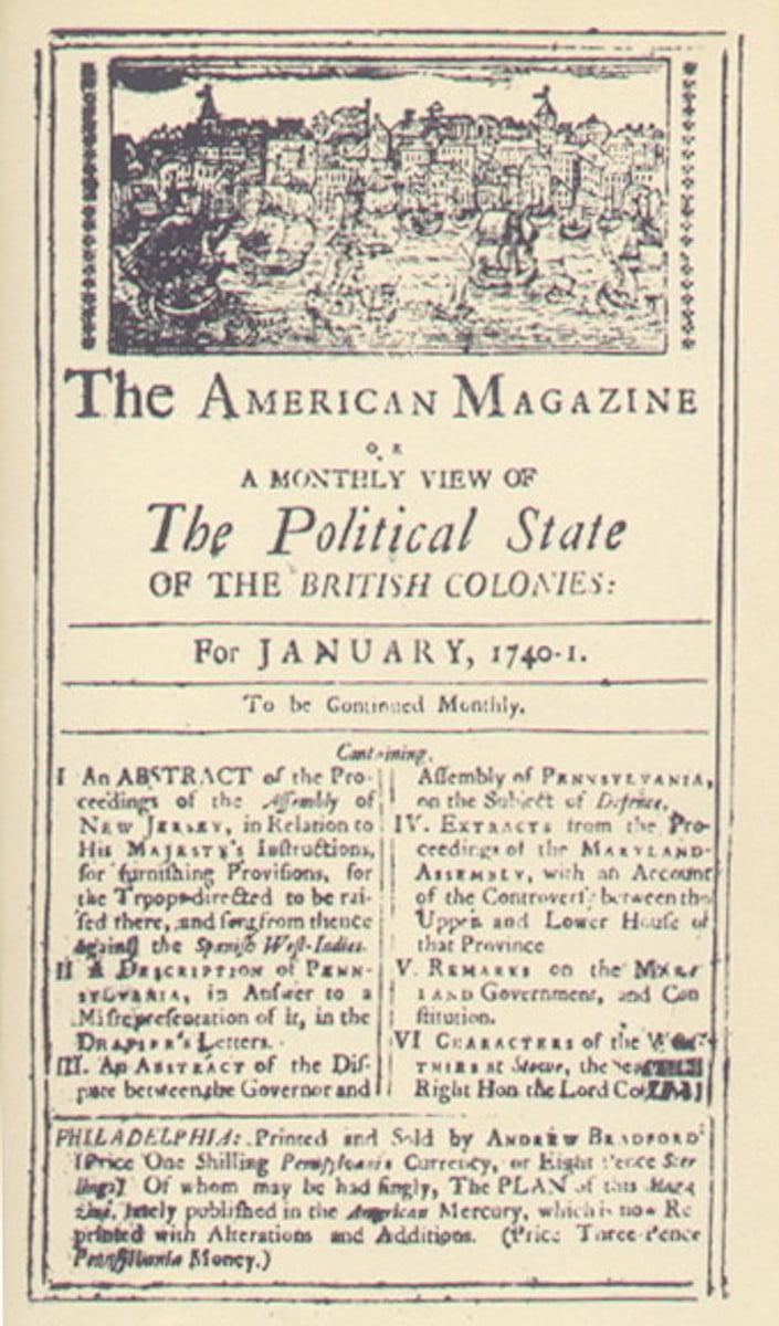 American Magazine (facsimile)