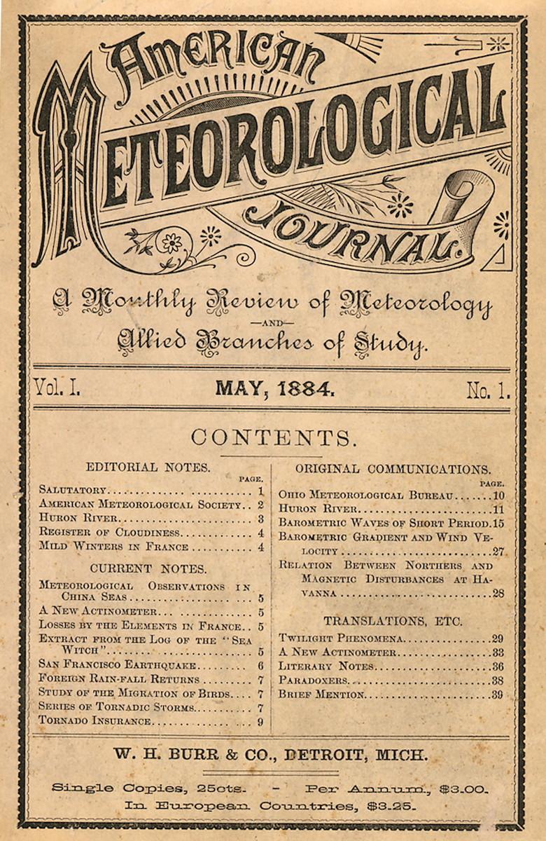 American Meteorological Journal