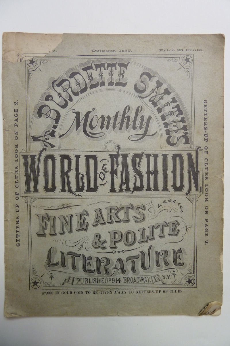 A. Burdette Smith's Monthly World of Fashion
