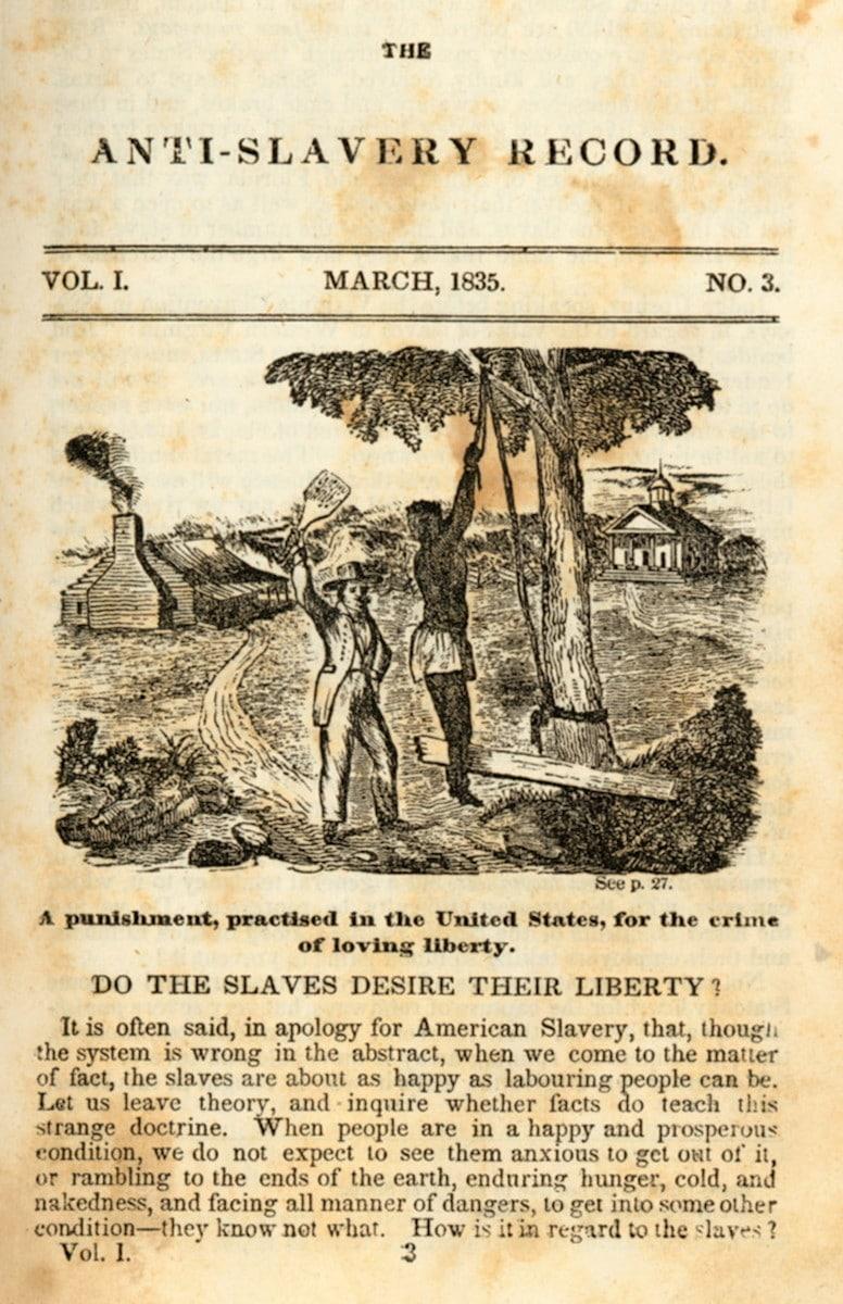 Anti-Slavery Record