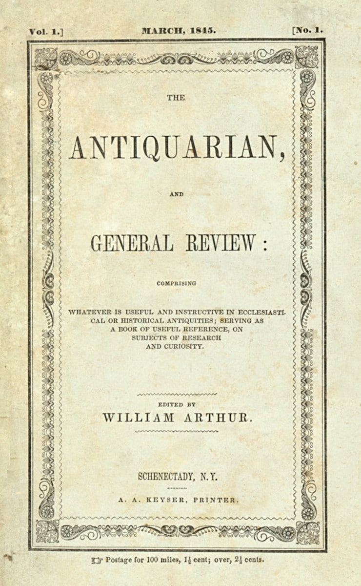 Antiquarian and General Review