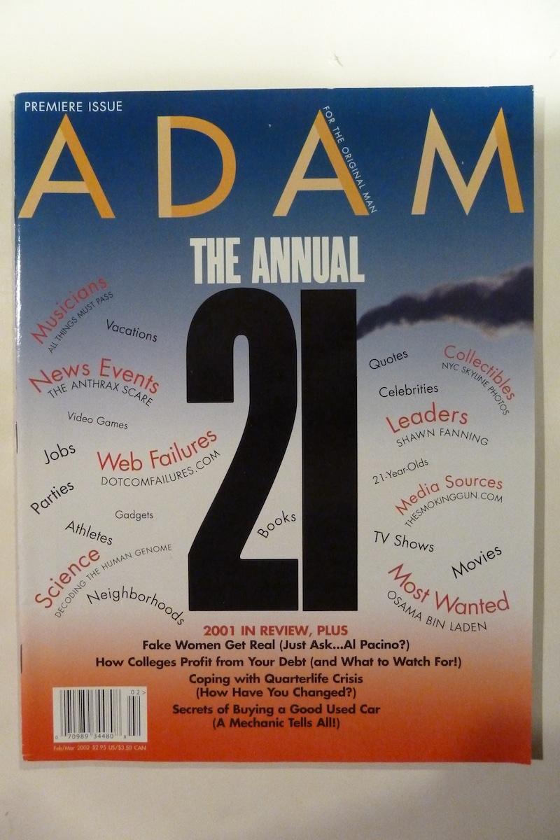 Adam: For The Original Man