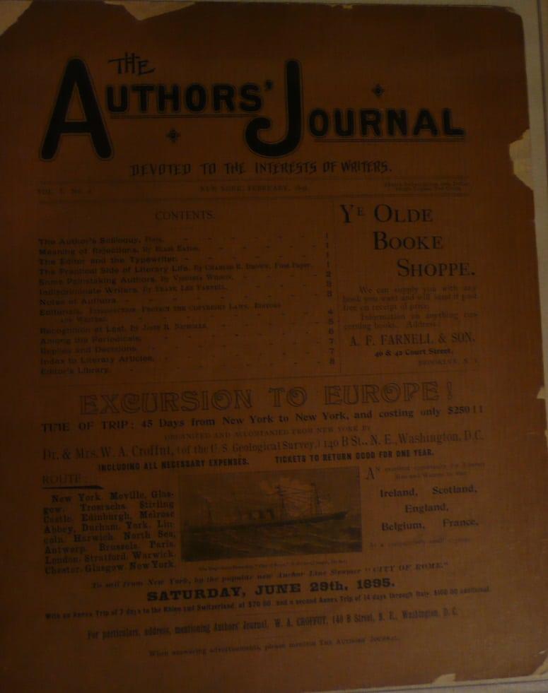 Authors' Journal