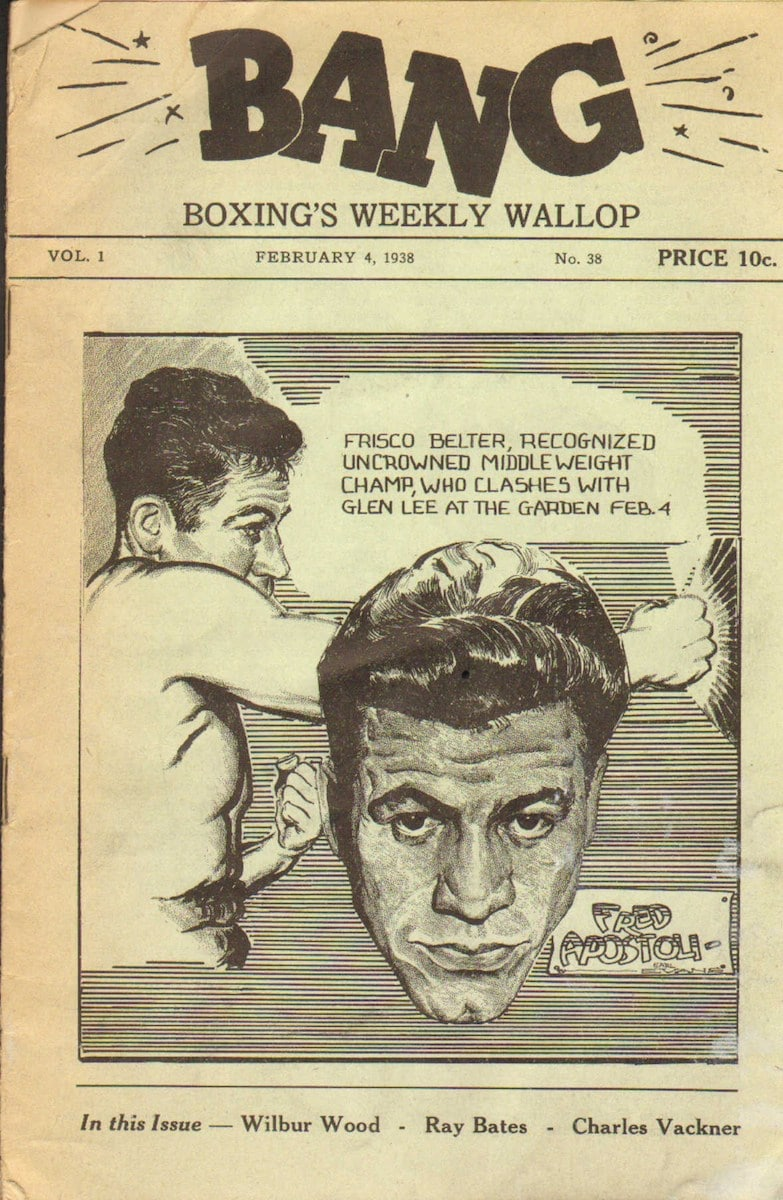 Bang; Boxing's Weekly Wallop