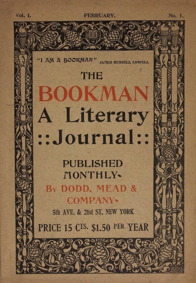 Bookman, A Literary Journal
