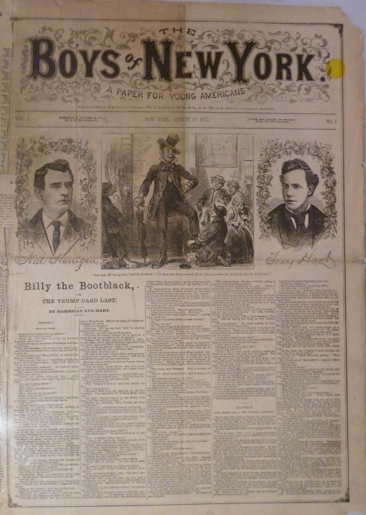 Boys of New York; A Paper for Young Americans