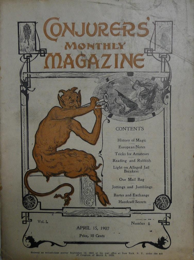 Conjurers' Monthly Magazine
