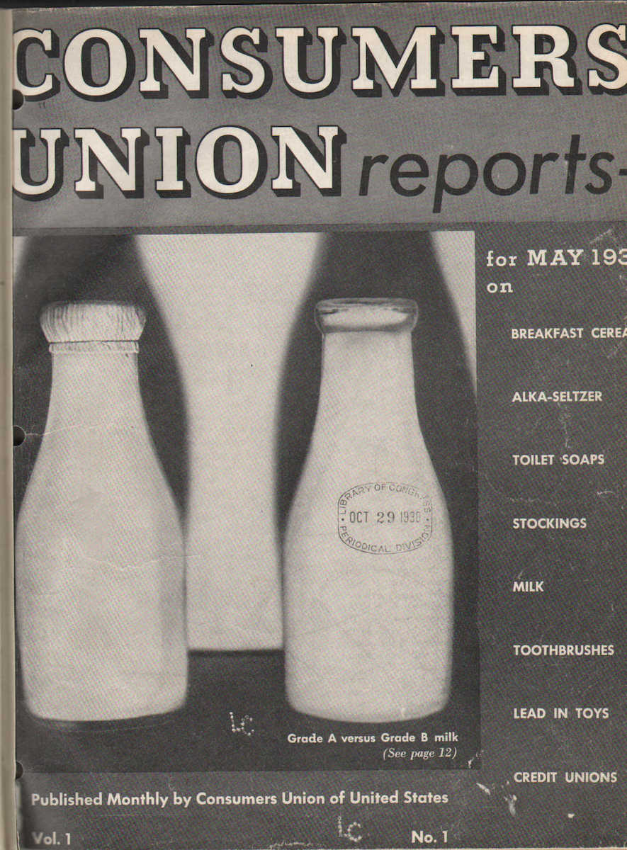 Consumers Union Reports