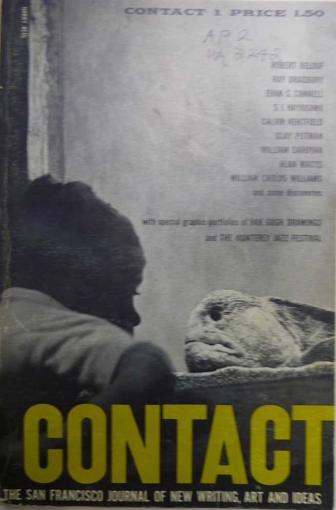 Contact 1. The San Francisco Journal of New Writing, Art and Ideas