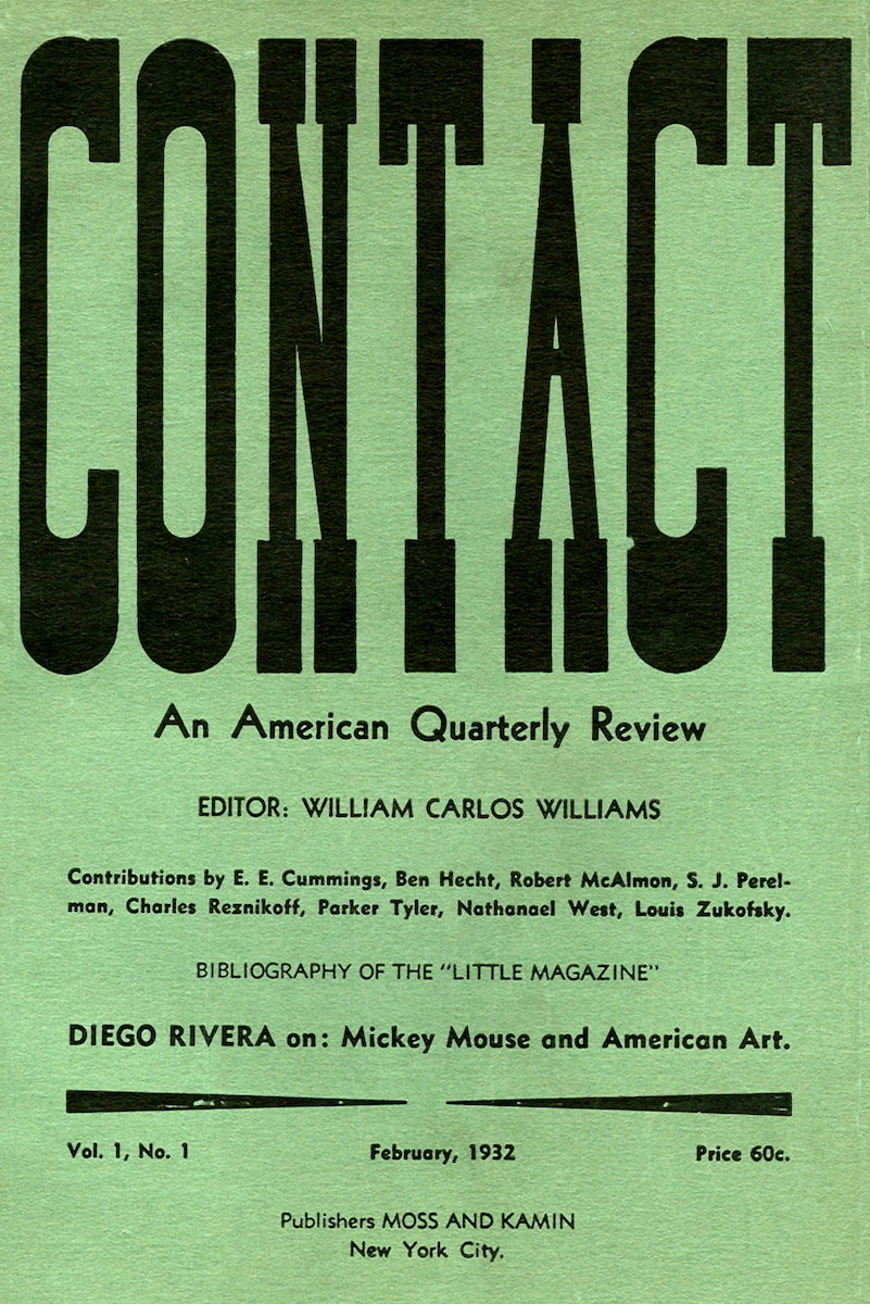 Contact: An American Quarterly Review