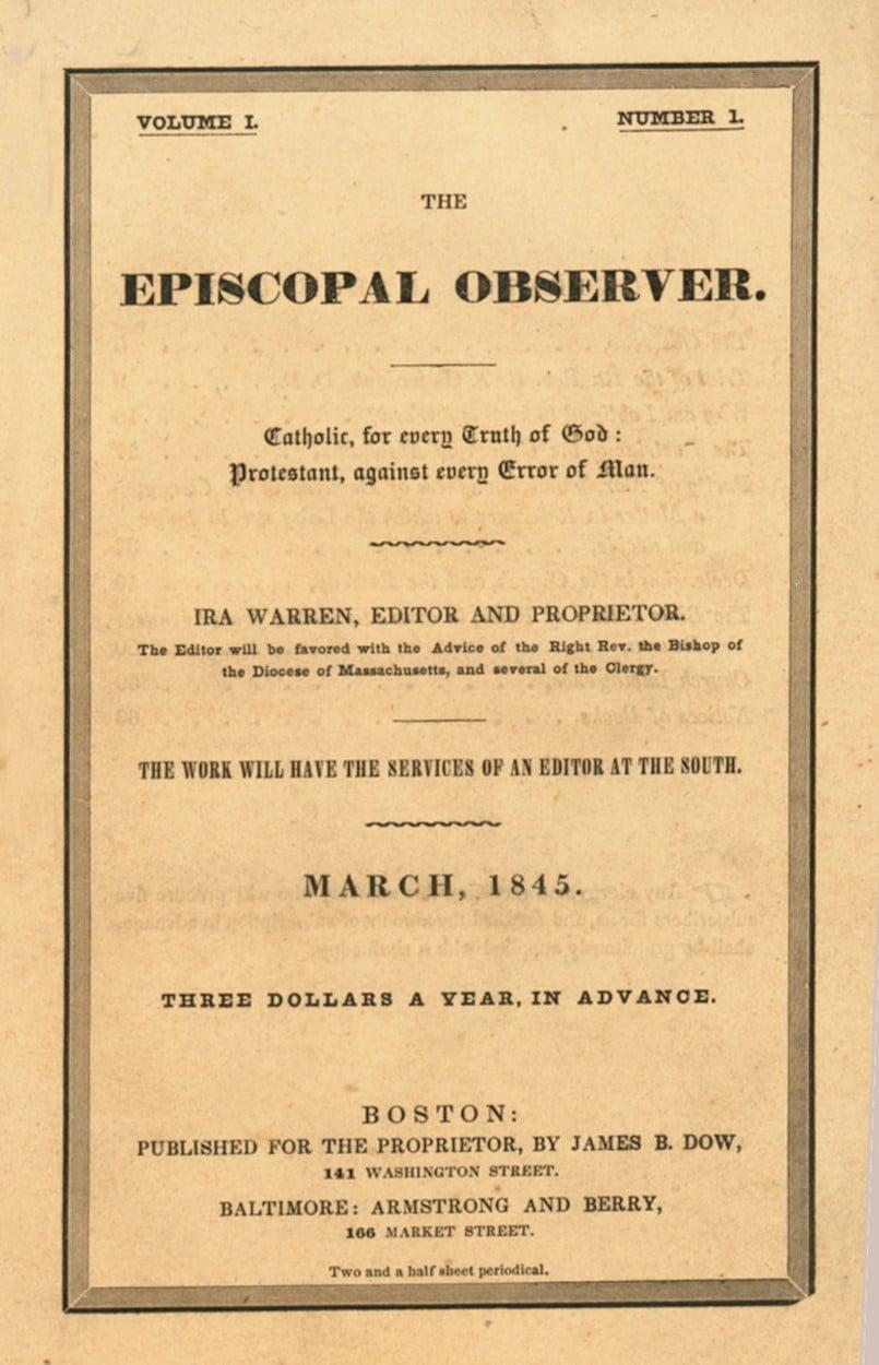 Episcopal Observer