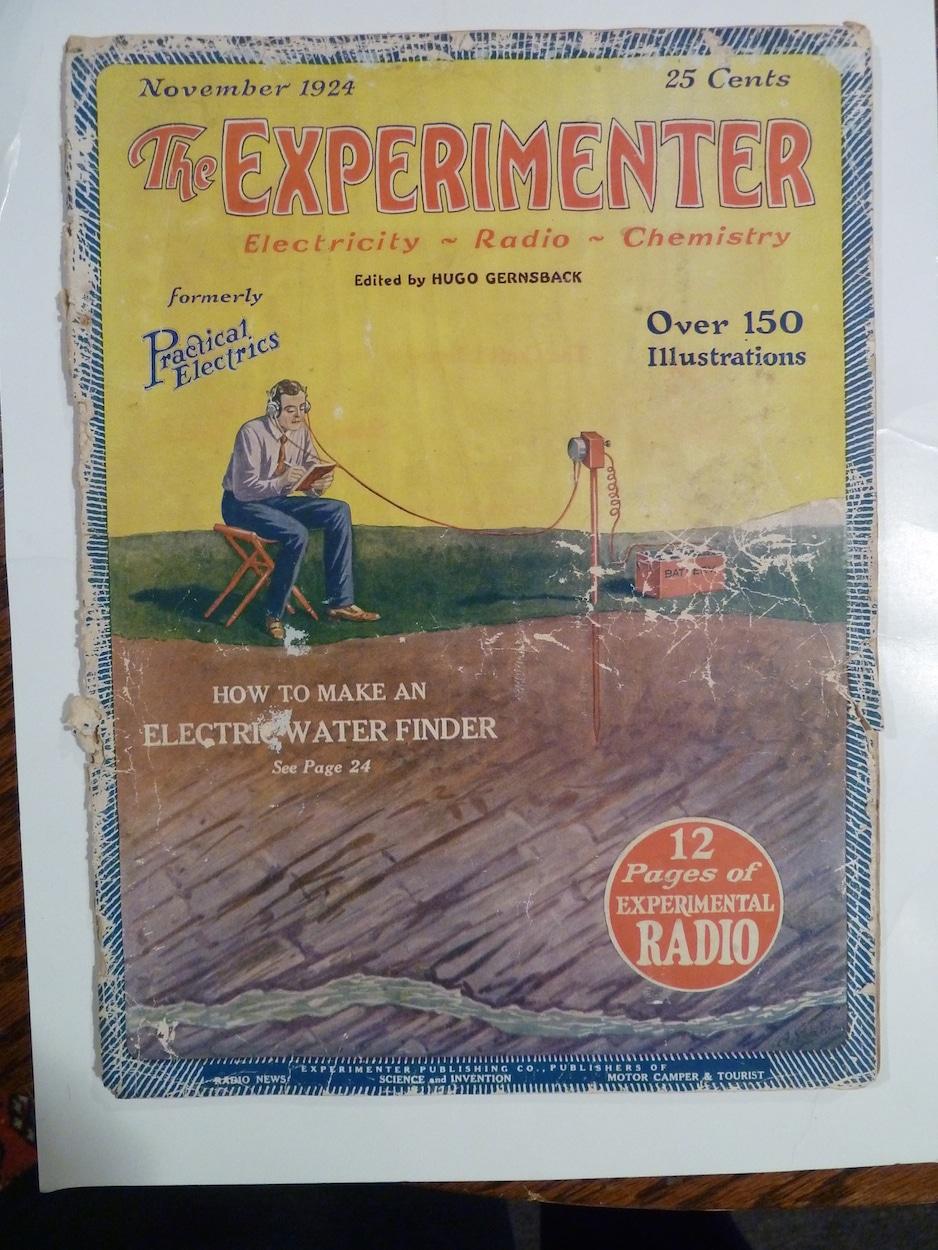 Experimenter, Electricity, Radio, Chemistry