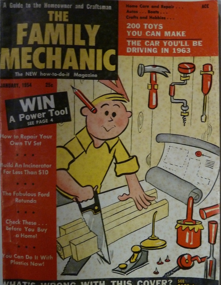 Family Mechanic; The New How-To-Do-It Magazine