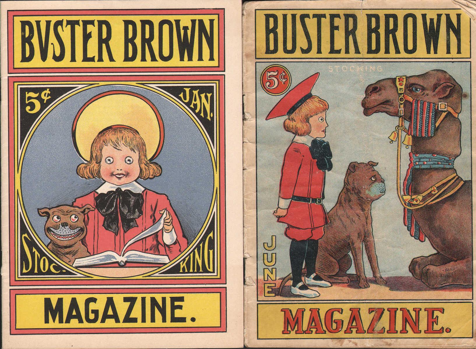 Buster Brown Stocking Magazine