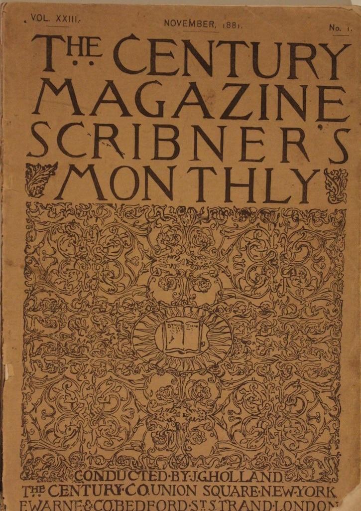 Century Magazine: Scribner's Monthly