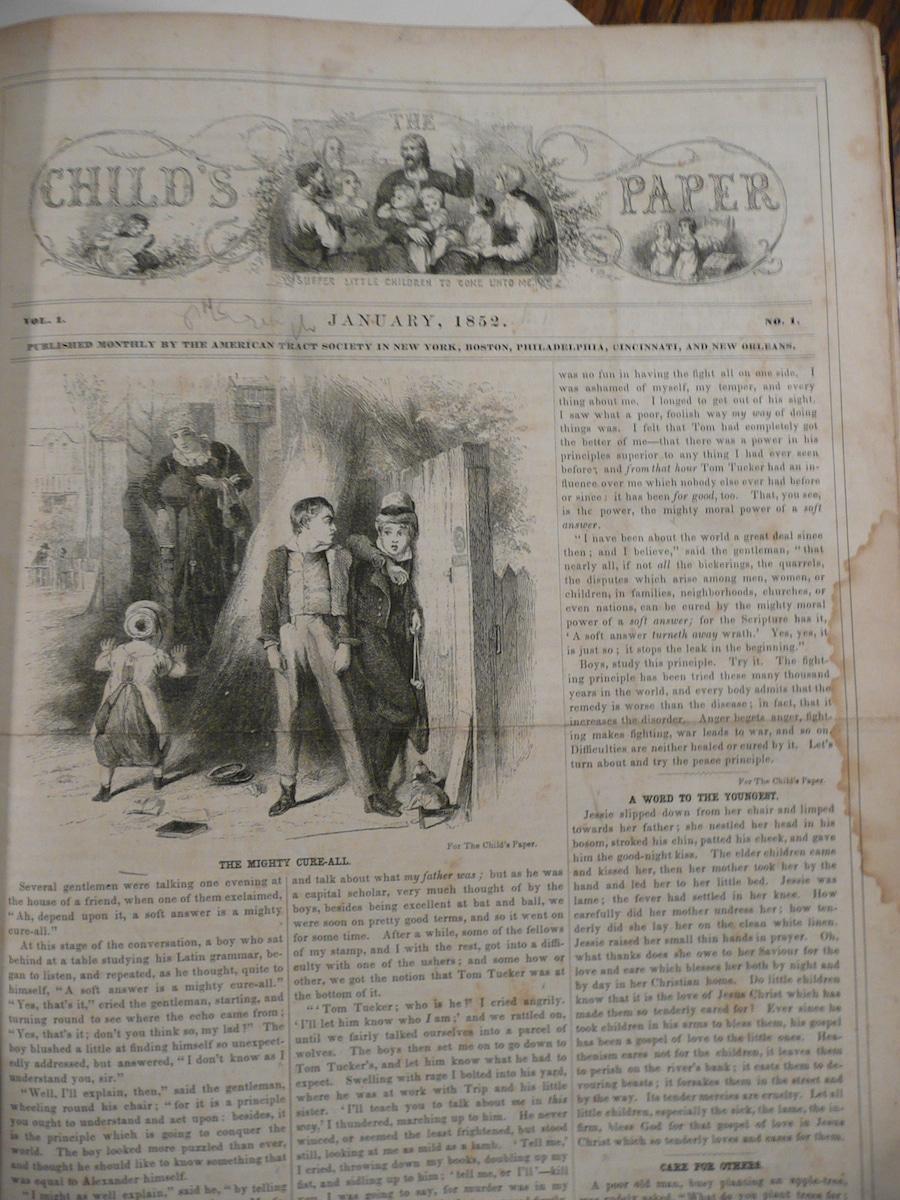 Child's Paper