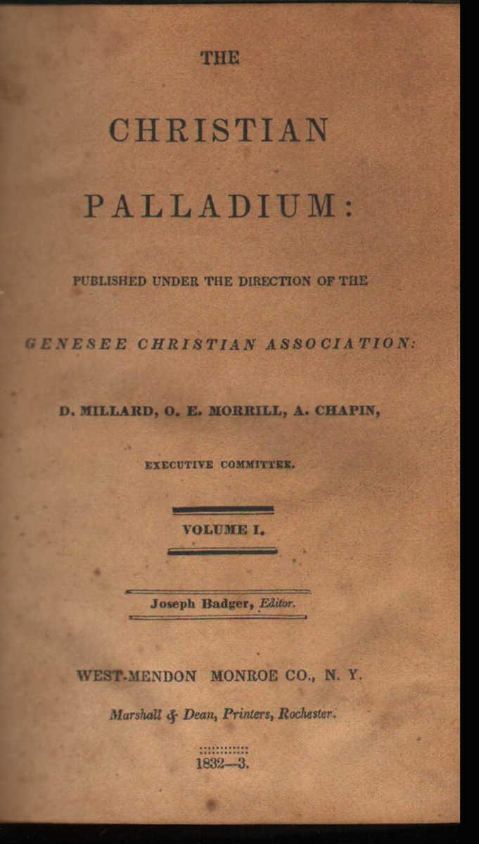Christian Palladium