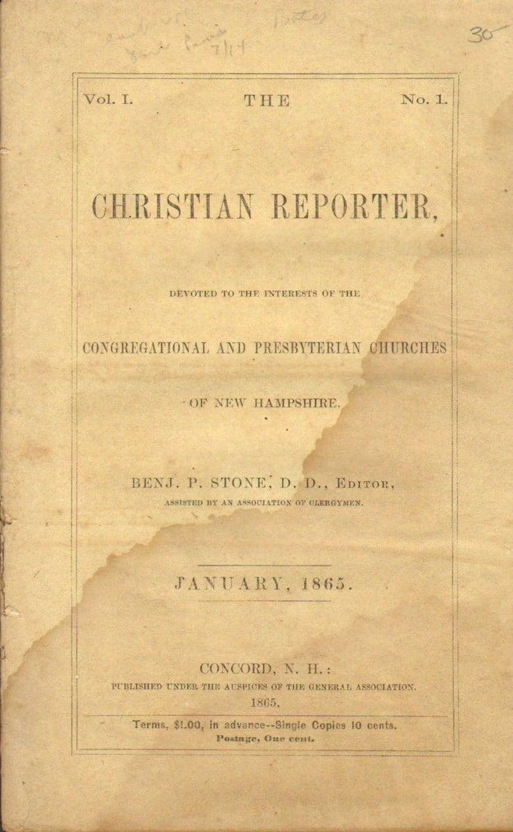 Christian Reporter