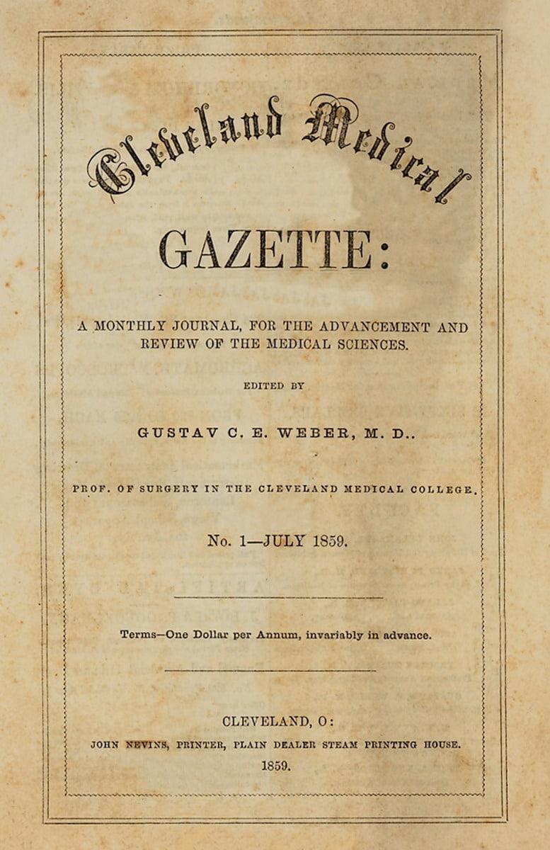 Cleveland Medical Gazette