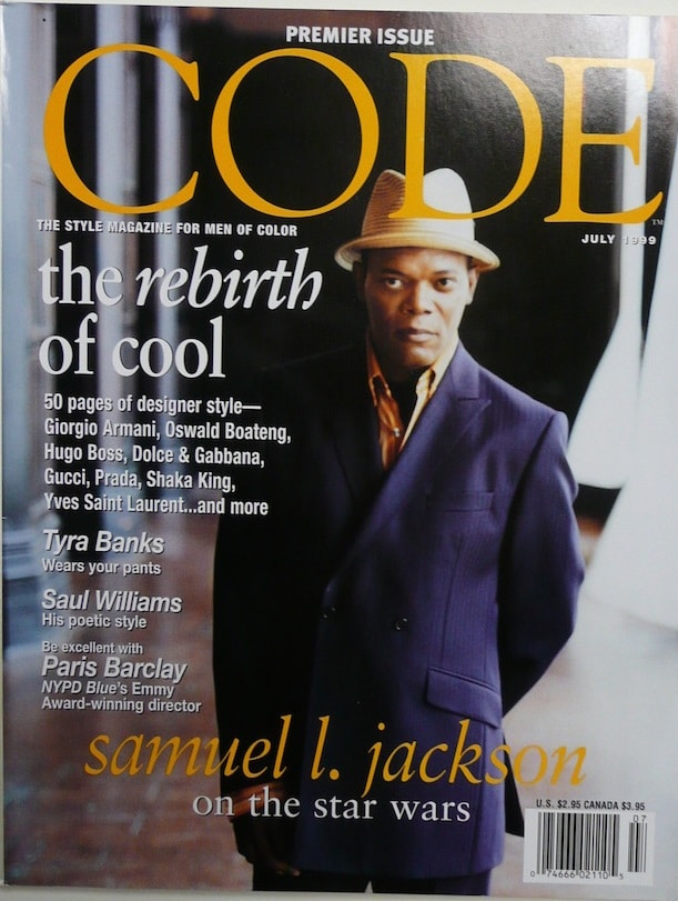 Code. The Style Magazine for Men of Color