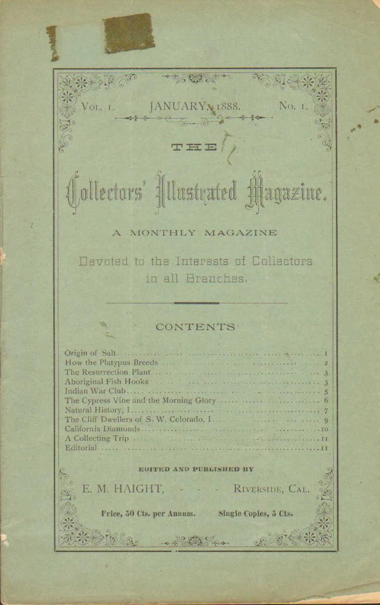 Collectors' Illustrated Magazine