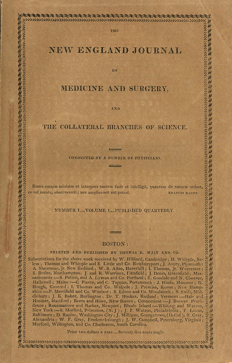 New England Journal of Medicine and Surgery