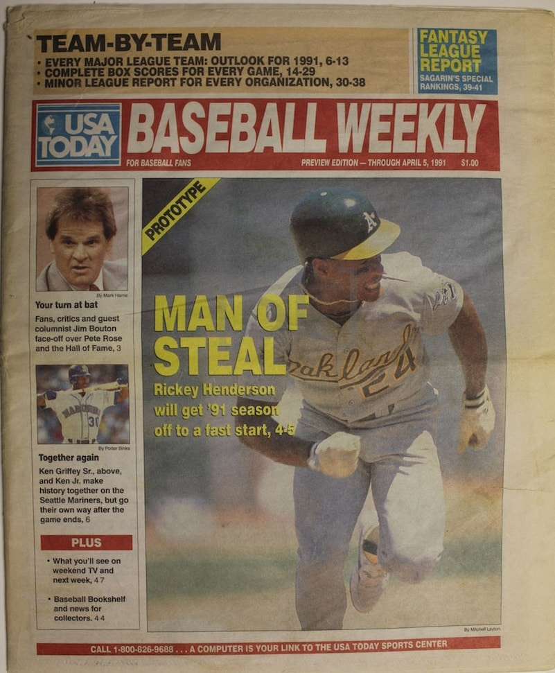USA Today Baseball Weekly