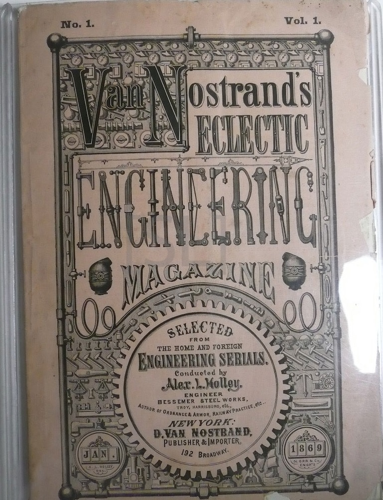 Van Nostrands Eclectic Engineering Magazine