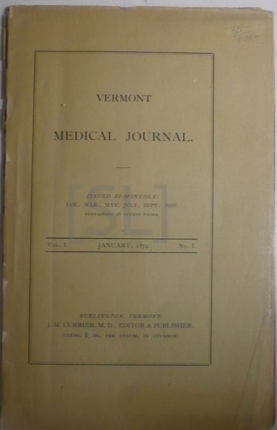 Vermont Medical Journal