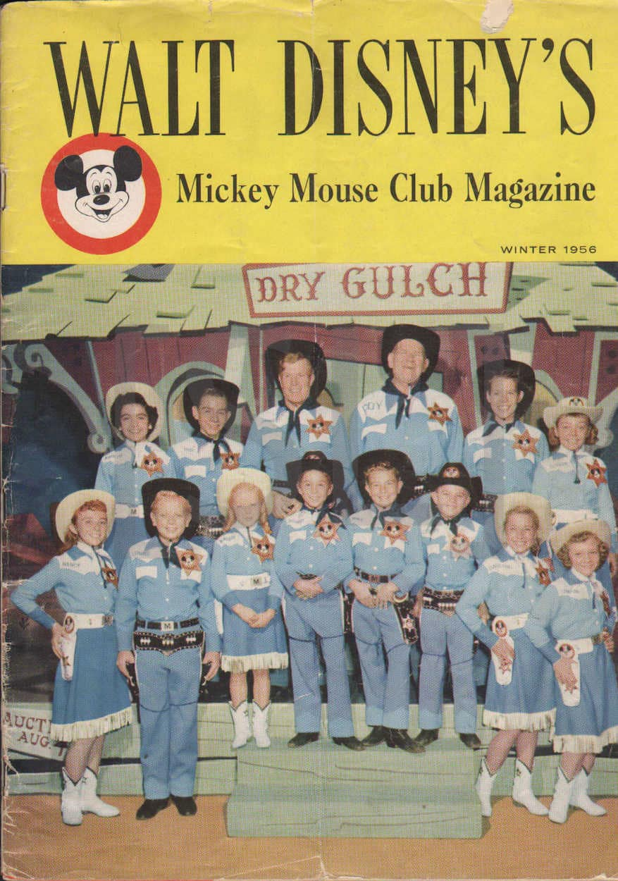 Walt Disney's Mickey Mouse Club Magazine