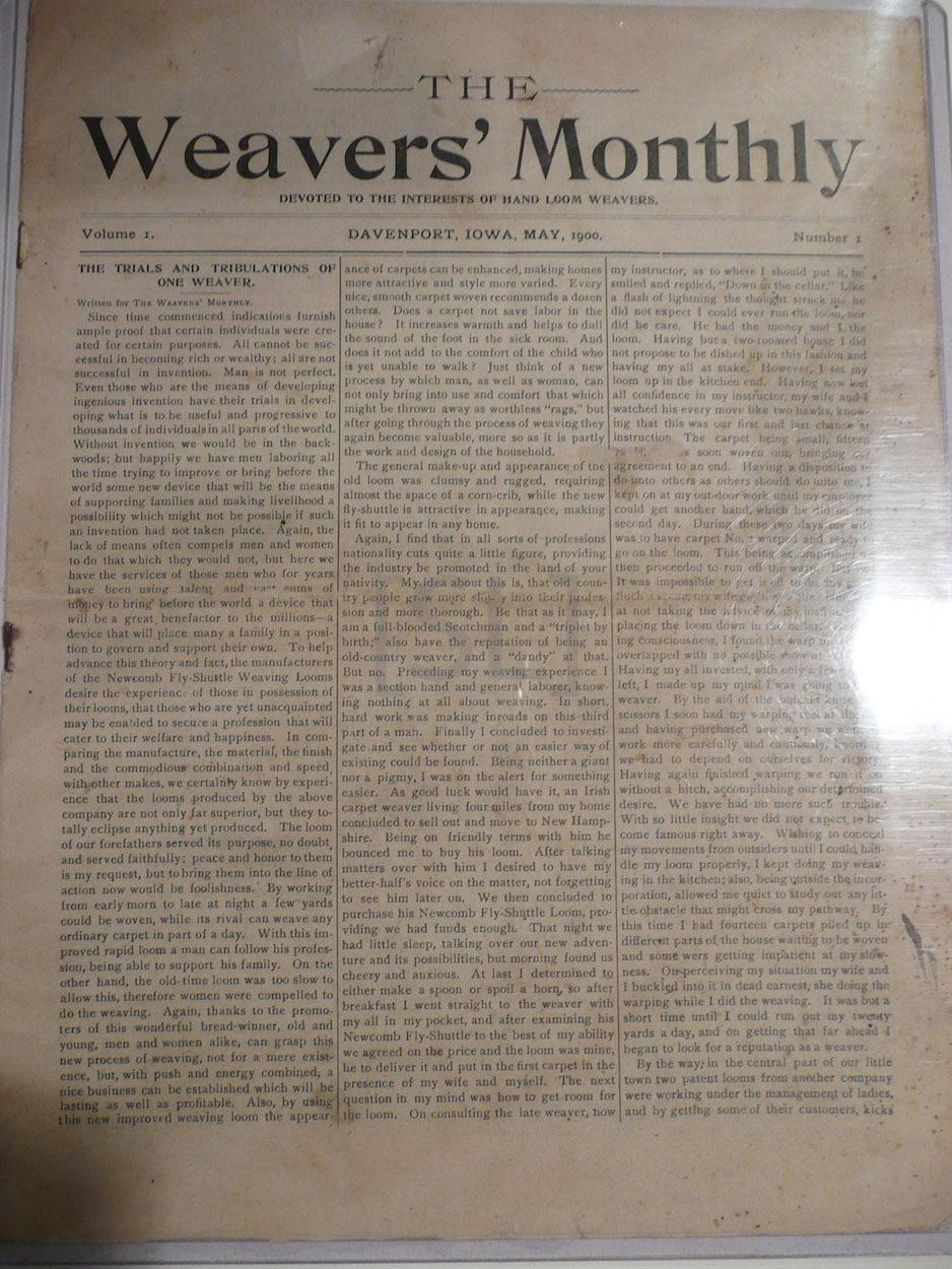 Weavers' Monthly