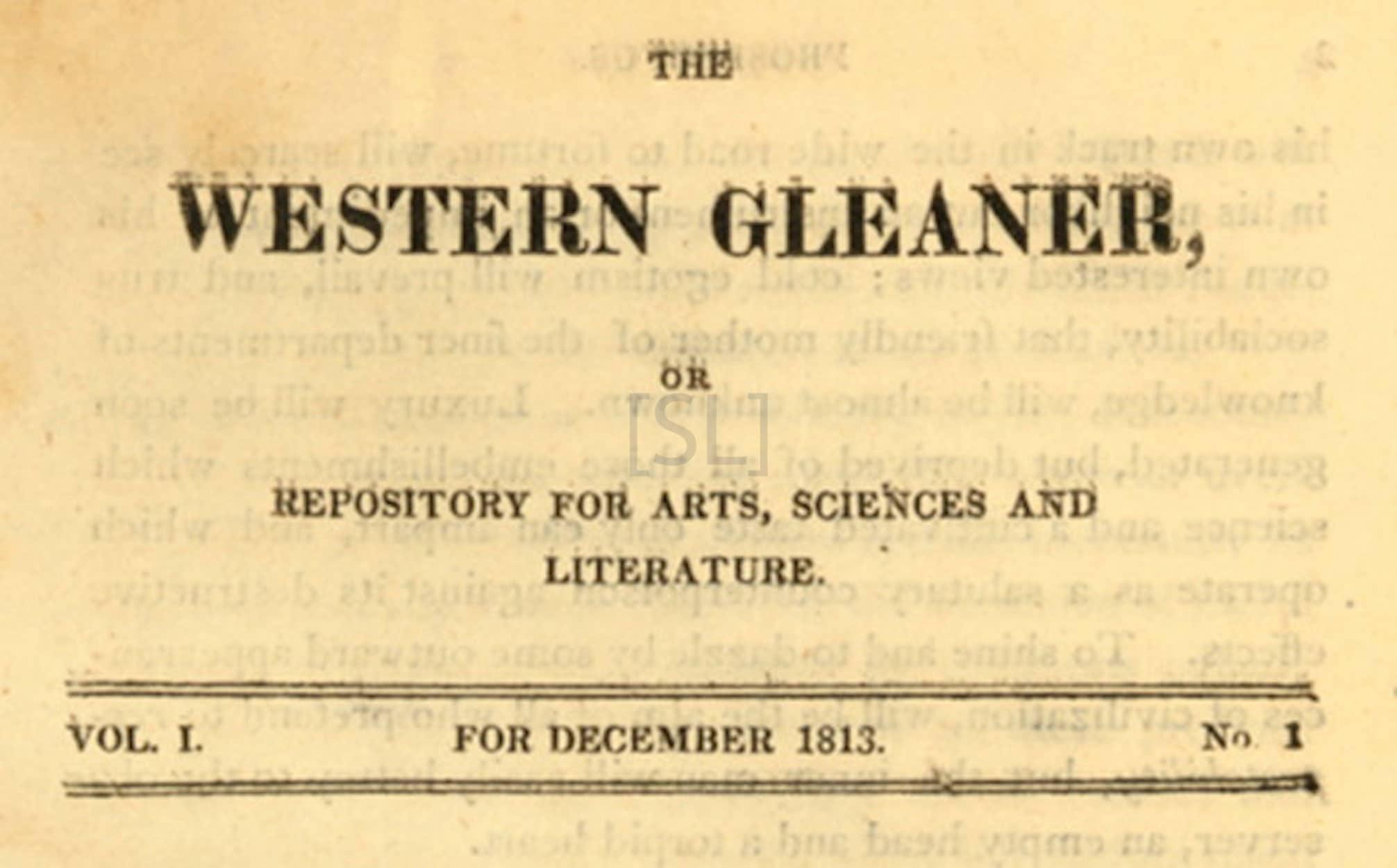 Western Gleaner