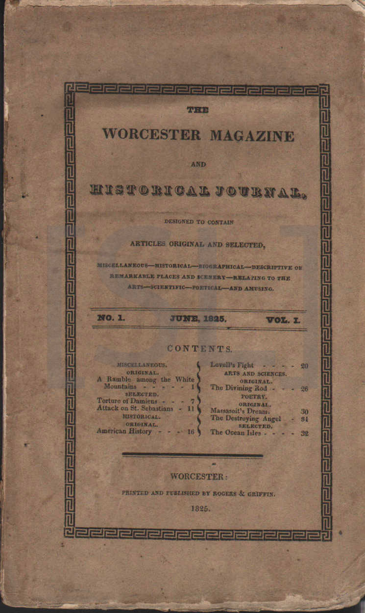 Worcester Magazine and Historical Journal
