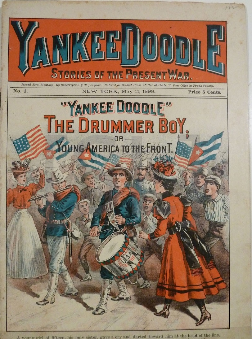 Yankee Doodle. Stories of the Present War