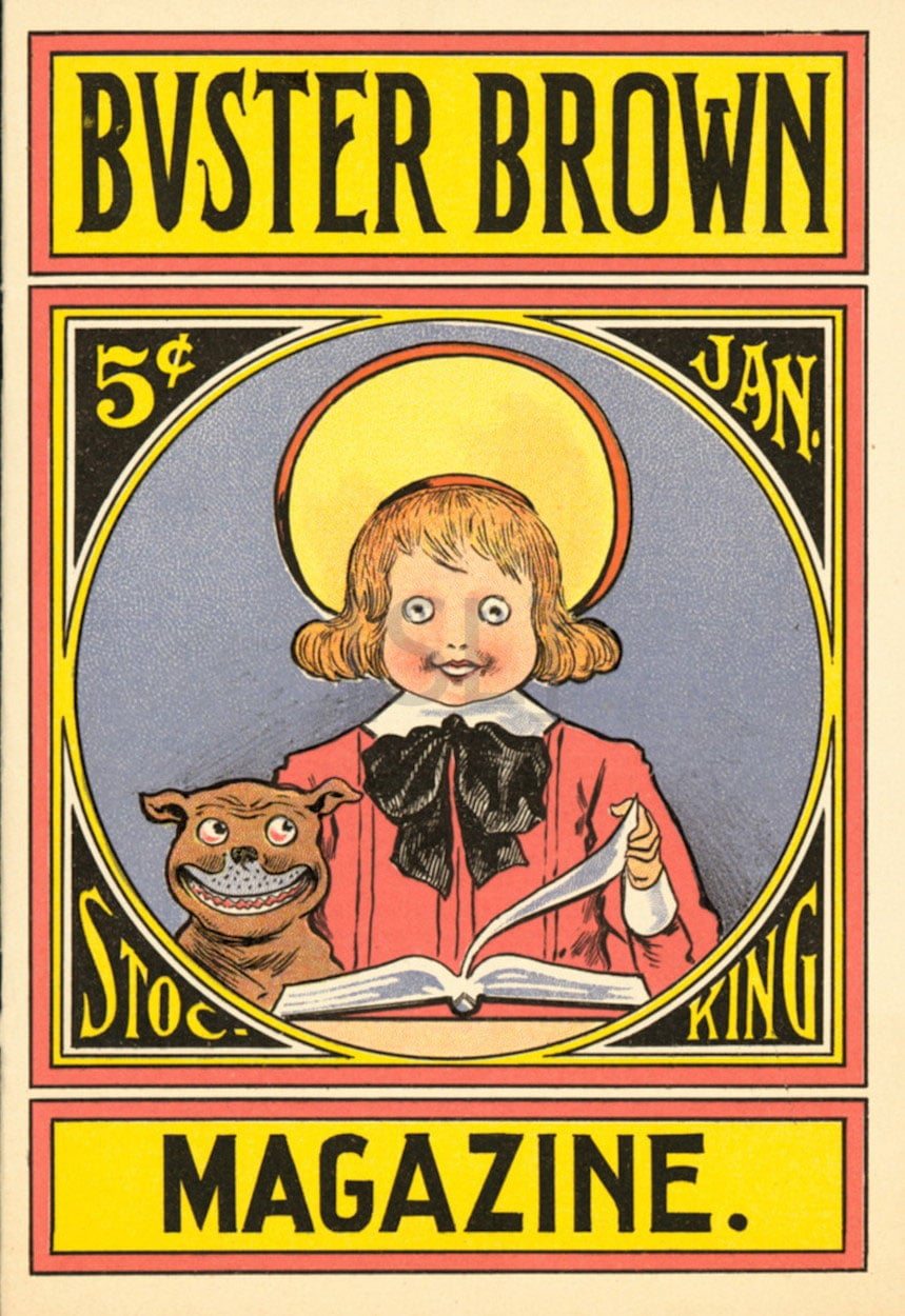 Buster Brown Stocking Magazine