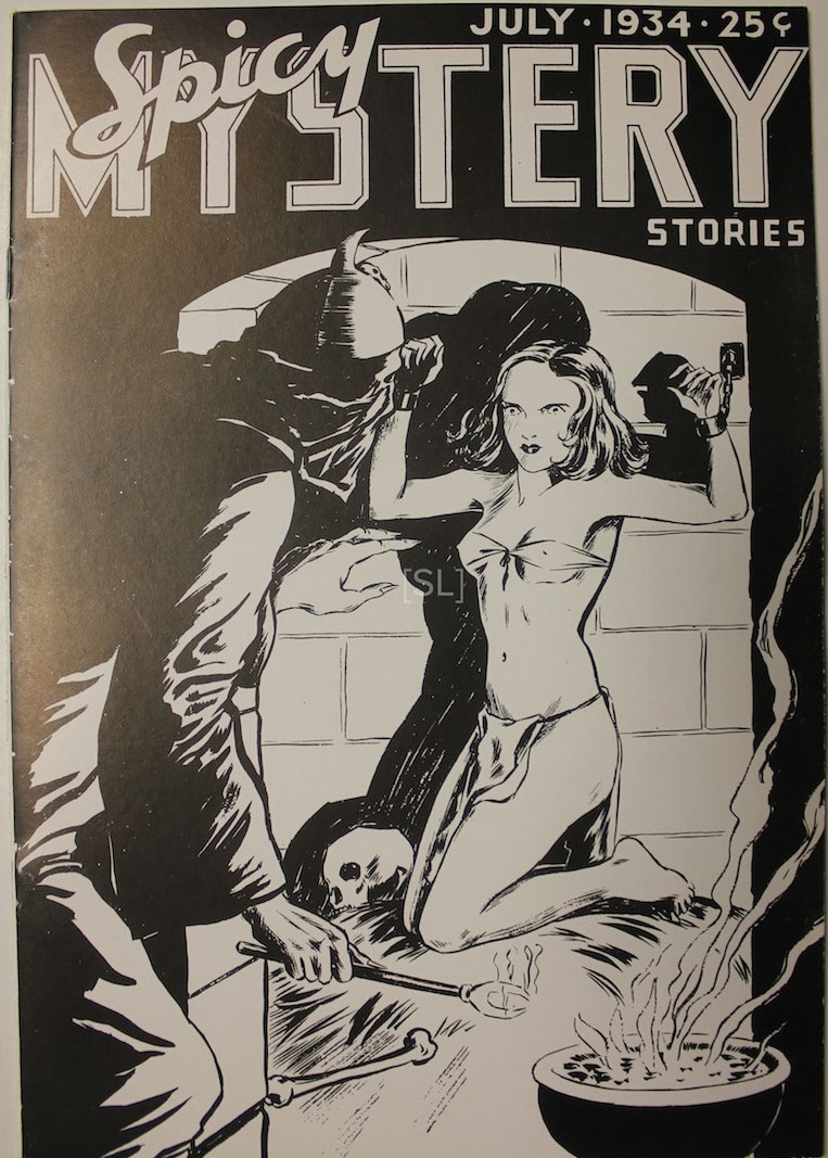 Spicy Mystery Stories