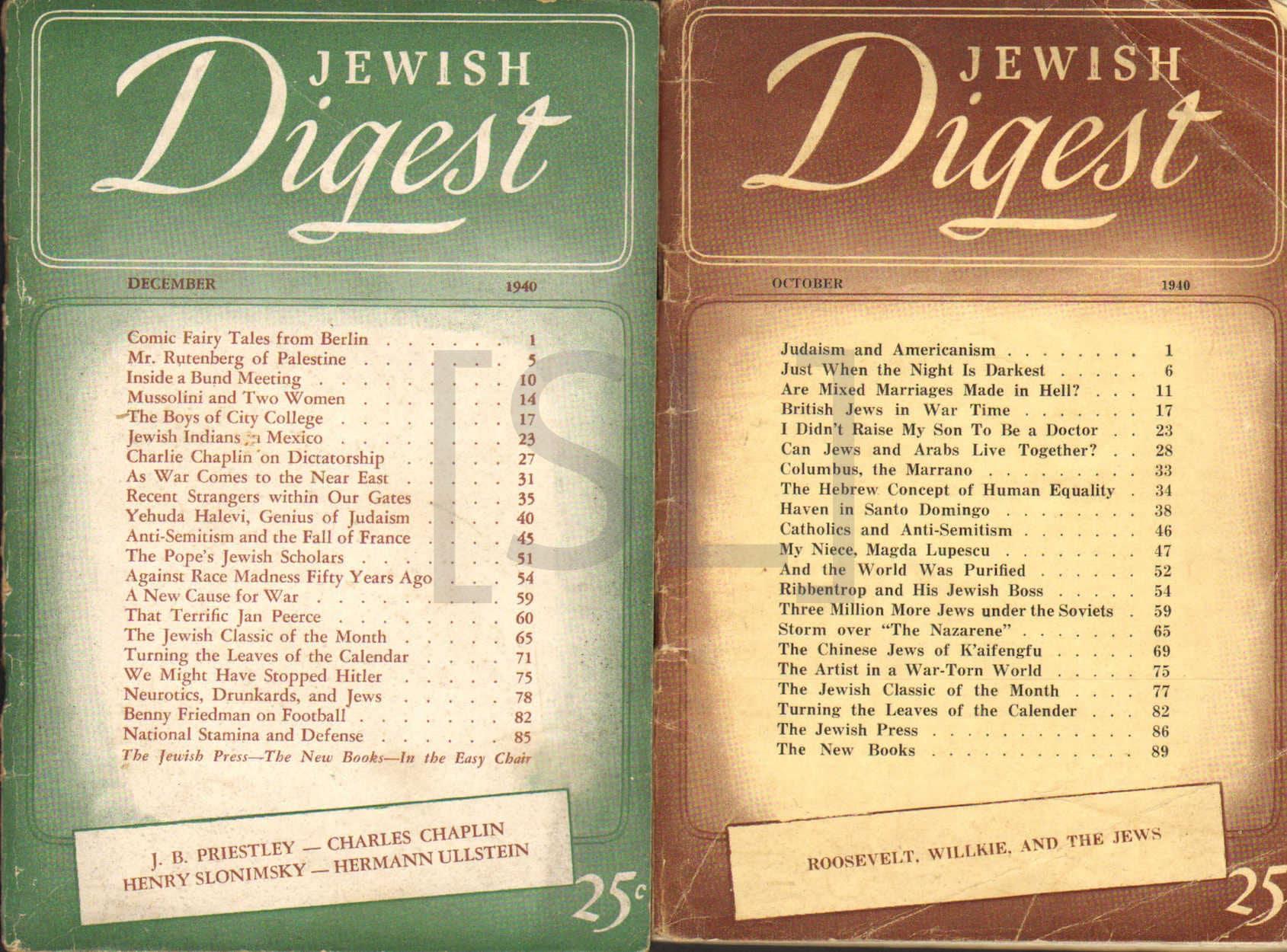 Jewish Digest