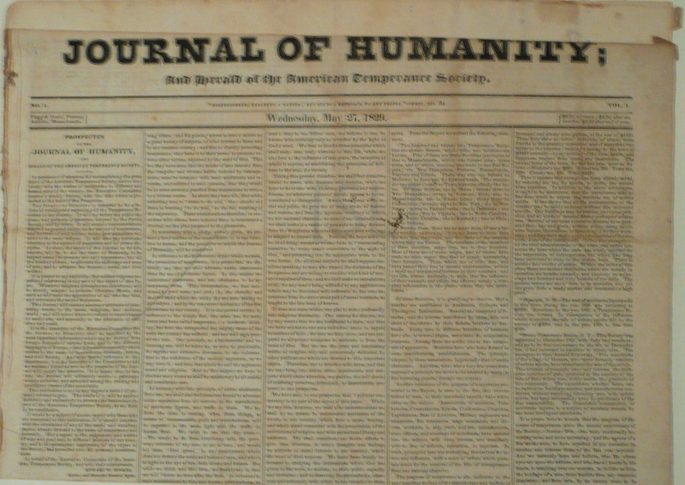 Journal of Humanity