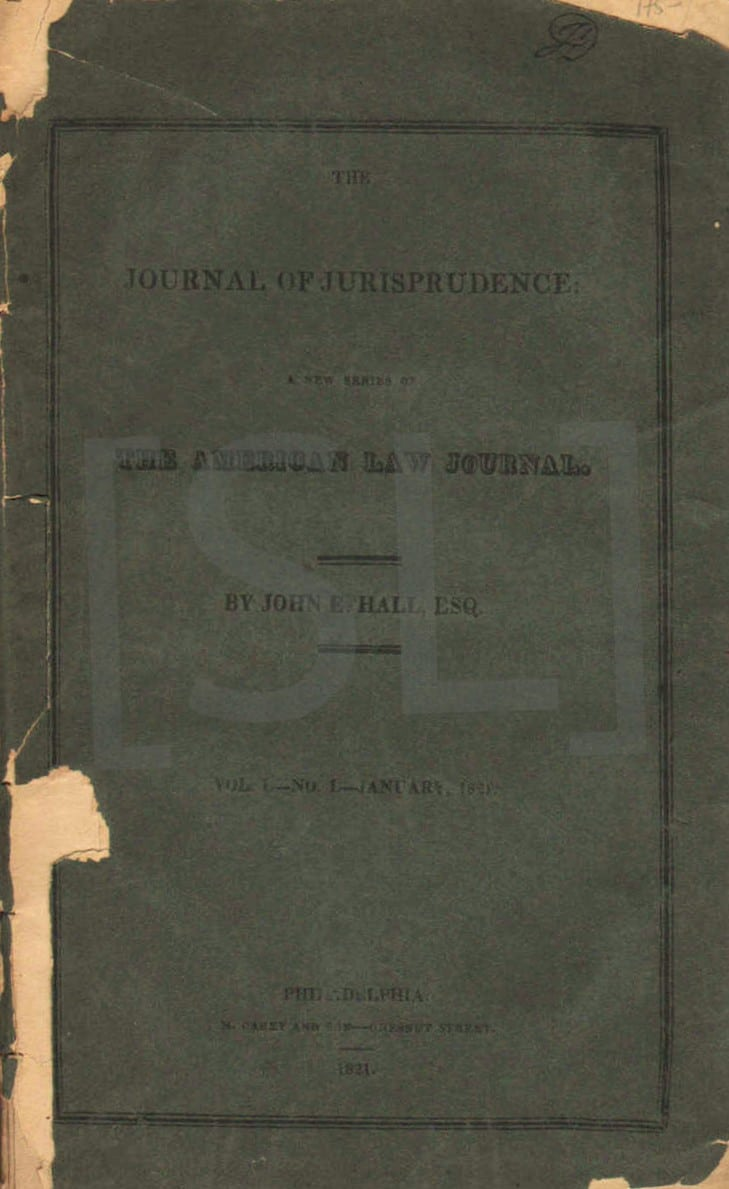 Journal of Jurisprudence