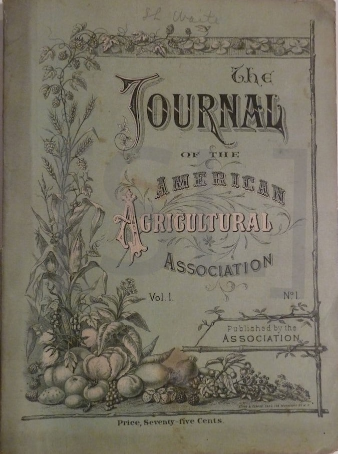 Journal of the American Agricultural Association