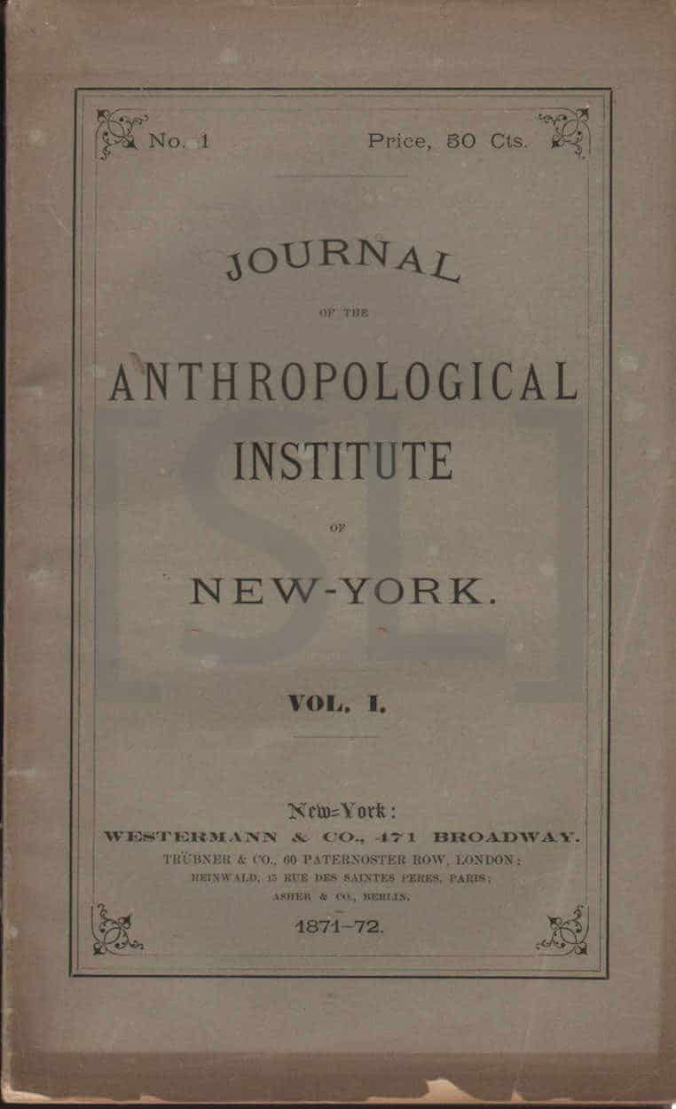 Journal of the Anthropological Institute of New York