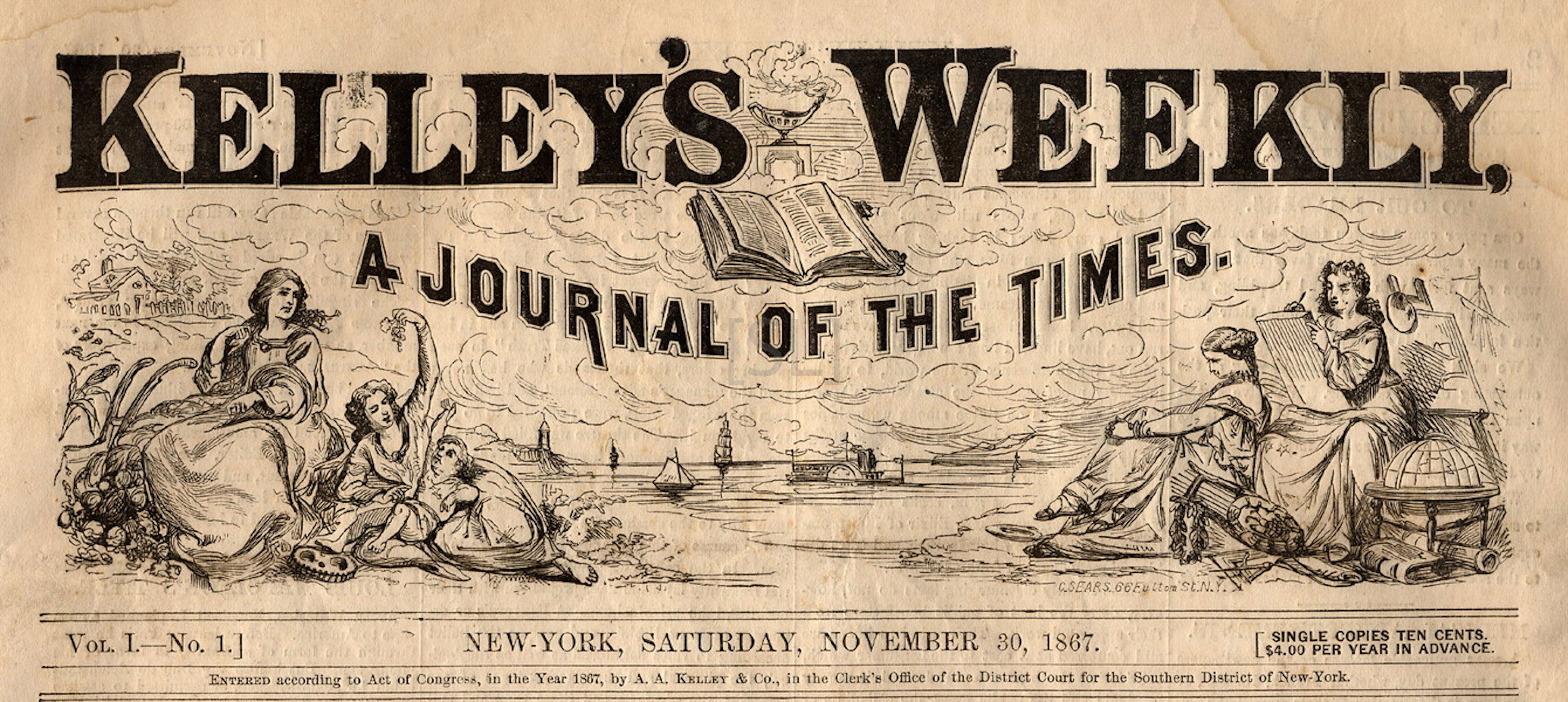 Kelley's Weekly, A Journal of the Times