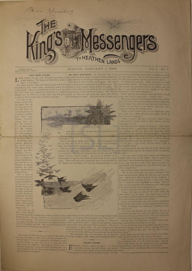 King's Messengers to Heathen Lands