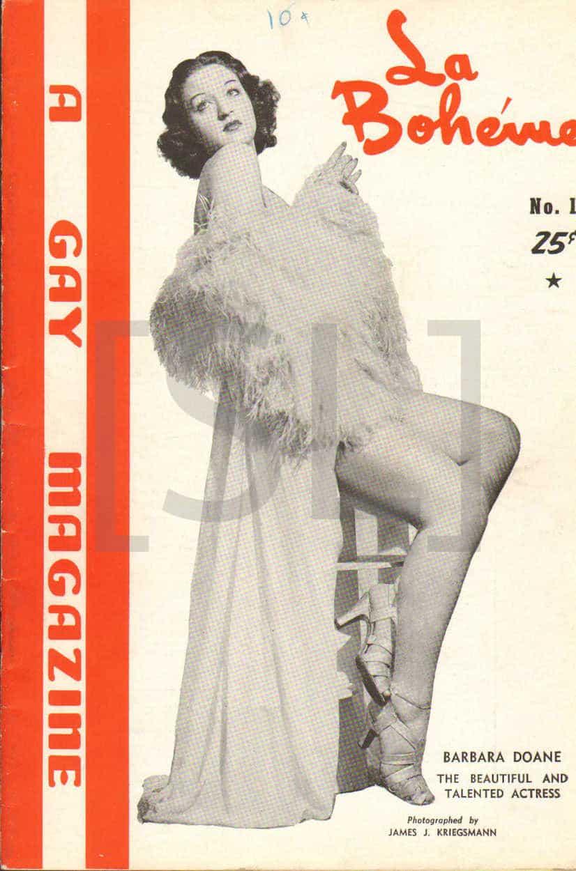 La Boheme. A Gay Magazine
