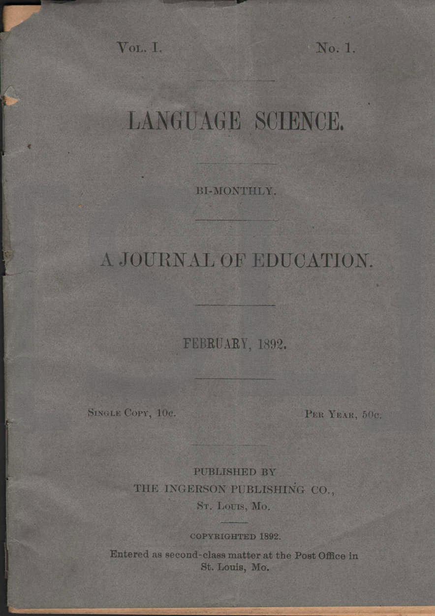 Language Science