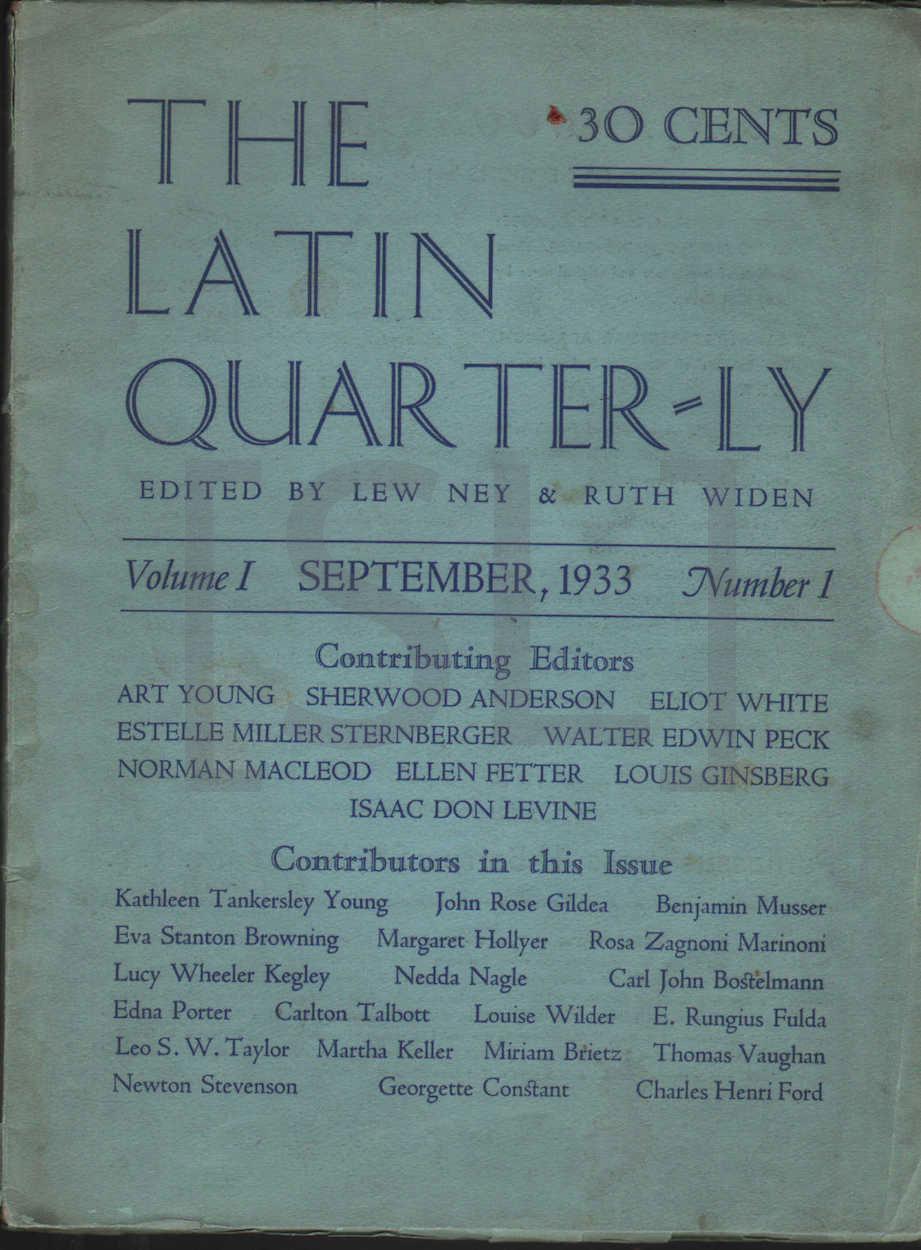 Latin Quarterly