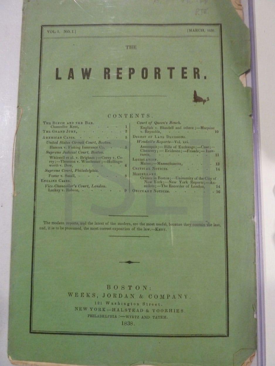 Law Reporter